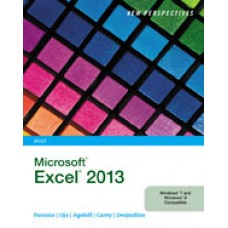 Solution Manual for New Perspectives on Microsoft Excel 2013, Brief, 1st Edition