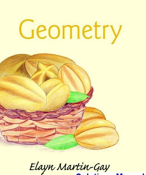 Geometry 1st Edition Martin Gay Solutions Manual