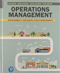 Solution Manual for Operations Management Sustainability and Supply Chain Management 3rd Canadian by Heizer