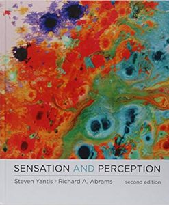 Test Bank for Sensation and Perception Second Edition