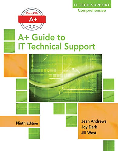 Test Bank For A+ Guide to IT Technical Support (Hardware and Software) 9th Edition