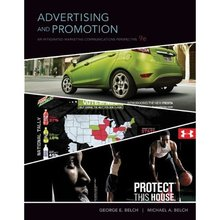 Advertising and Promotion An Integrated Marketing Communications Perspective Belch 9th Edition Test Bank