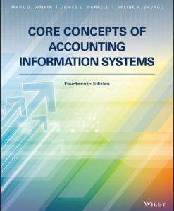 Test Bank for Core Concepts of Accounting Information Systems 14th by Simkin