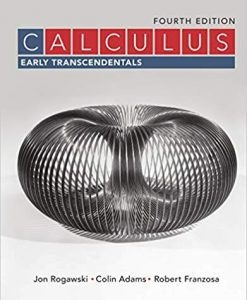 Solution Manual for Calculus Early Transcendentals 4th by Rogawski