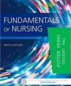 Solution Manual for Fundamentals of Nursing, 9th by Potter