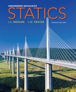 Solution Manual for Engineering Mechanics, Statics, 7th Edition, J. L. Meriam, L. G. Kraige, ISBN: 0470614730, ISBN : 9781118214848, ISBN : 9780470917879, ISBN : 9780470614730