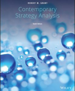 Test Bank for Contemporary Strategy Analysis 10th by Grant