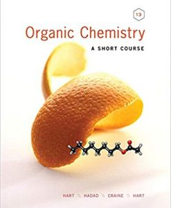 Test Bank for Organic Chemistry A Short Course 13th by Hart