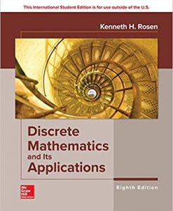 Solution Manual for Discrete Mathematics and Its Applications 8th Edition by Rosen