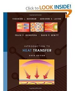 Solution manual for Introduction to Heat Transfer Bergman Lavine Incropera DeWitt 6th edition