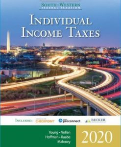 Test Bank for South-Western Federal Taxation 2020: Individual Income Taxes, 43rd Edition, James C. Young, ISBN-10: 0357109155, ISBN-13: 9780357109151