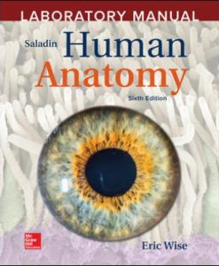 Test Bank for Accompany Saladin Human Anatomy, 6th Edition, Eric Wise ISBN10: 1260399761 ISBN13: 9781260399769