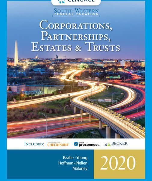Test Bank for Corporations, Partnerships, Estates and Trusts 2020, 43th by Raabe