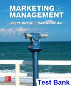 Marketing Management 2nd Edition Marshall Test Bank