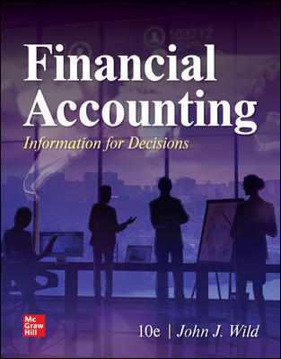 Test Bank for Financial Accounting: Information for Decisions, 10th Edition, John Wild, ISBN10: 1260247872, ISBN13: 9781260247879
