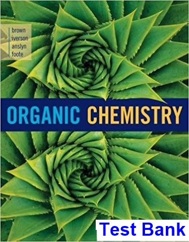 Organic Chemistry 8th Edition Brown Test Bank
