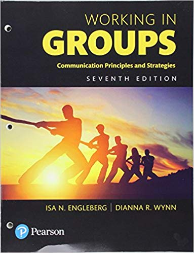 Test Bank for Working in Groups: Communication Principles and Strategies 7th Edition