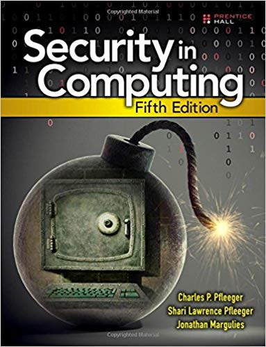 Solution Manual for Security in Computing 5th by Pfleeger