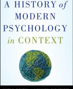 Test Bank For A History of Modern Psychology in Context 1st Edition