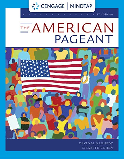 Test Bank for The American Pageant 17th by Kennedy