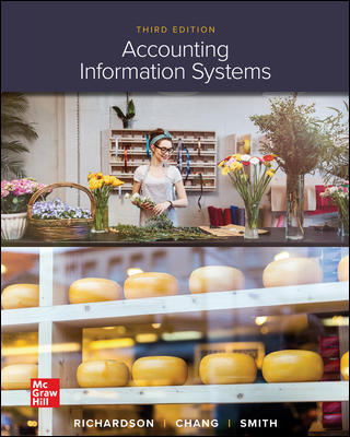 Test Bank for Accounting Information Systems, 3rd Edition, Vernon Richardson, Chengyee Chang, Rod Smith, ISBN10: 1259969533, ISBN13: 9781259969539