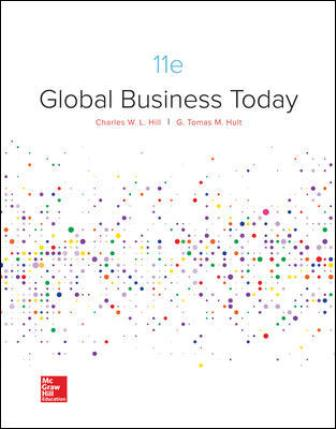 Solution Manual for Global Business Today 11th by Hill