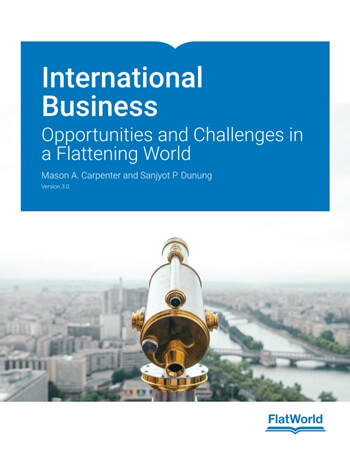 International Business Opportunities and Challenges in a Flattening World Version 3 0 3rd Carpenter Solution Manual