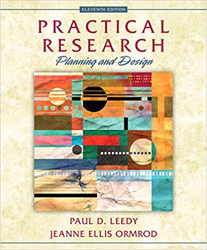 Test Bank for Practical Research: Planning and Design 11th Edition