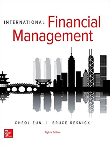Test Bank for International Financial Management (The Mcgraw-hill/Irwin Series in Finance, Insurance, and Real Estate) 8th Edition