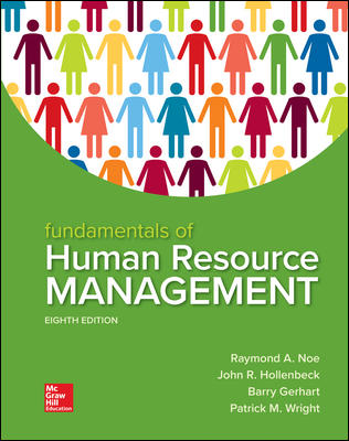 Solution Manual for Fundamentals of Human Resource Management 8th by Noe