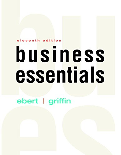 Test Bank For Business Essentials (11th Edition) 11th Edition
