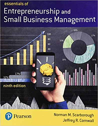 Test Bank for Essentials of Entrepreneurship and Small Business Management 9th by Scarborough