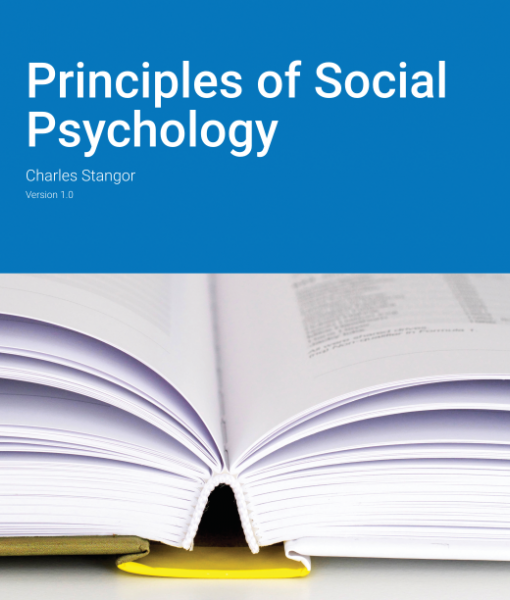 Test Bank for Principles of Social Psychology Version 1.0 by Stangor