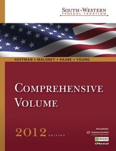South-Western Federal Taxation 2012 Comprehensive Hoffman Maloney 35th Edition Test Bank